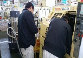 某CNC加工机床固液分离