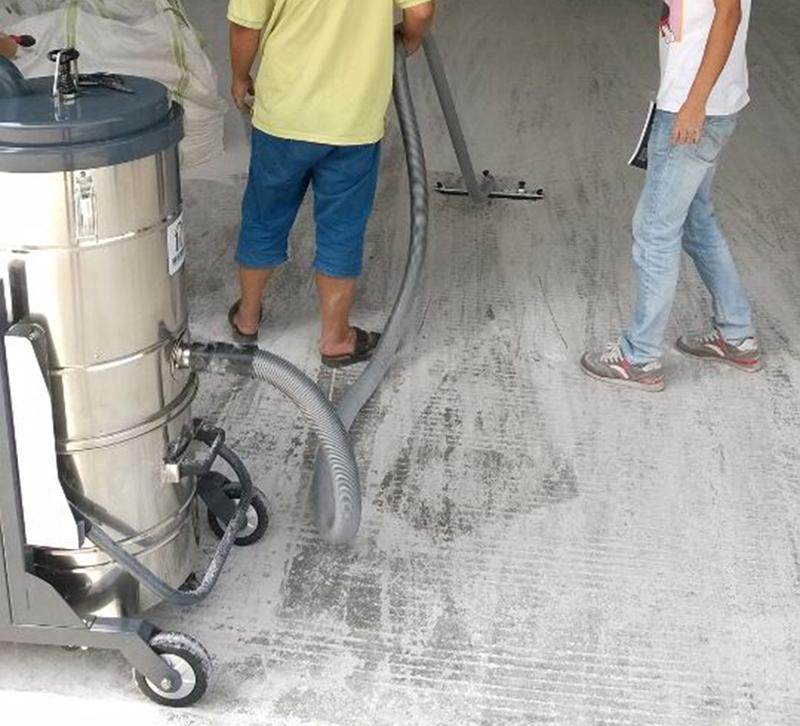 PKB-40使用于某化工厂粉末吸尘作业
