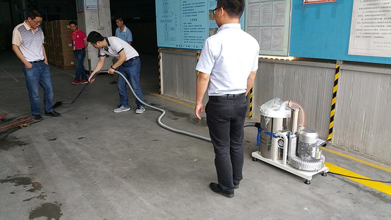 PJ-15M使用某电子厂车间保洁