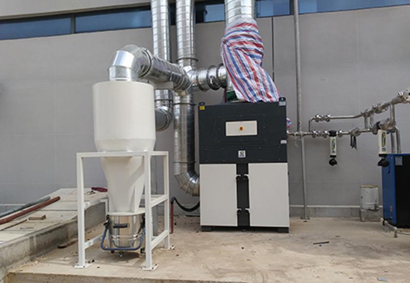 DF系列使用于某进口精密磨床除尘