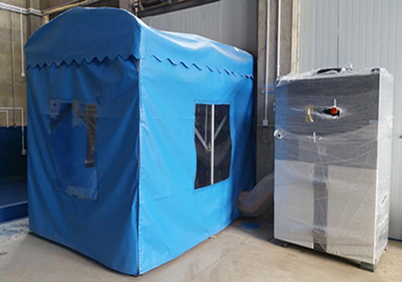 DF系列使用于简易喷砂房除尘作业