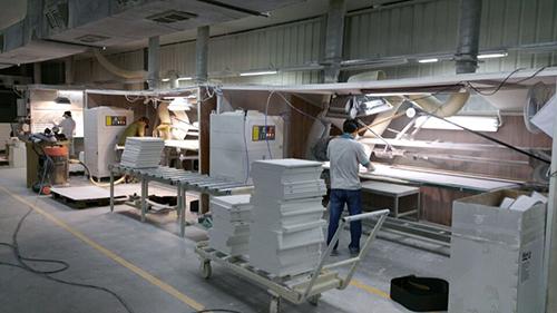 DF系列使用于某木材加工作业吸尘