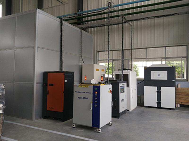 DF系列使用于某焊接工作站除尘作业