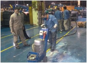 地坪打磨行业工况典型使用案例
