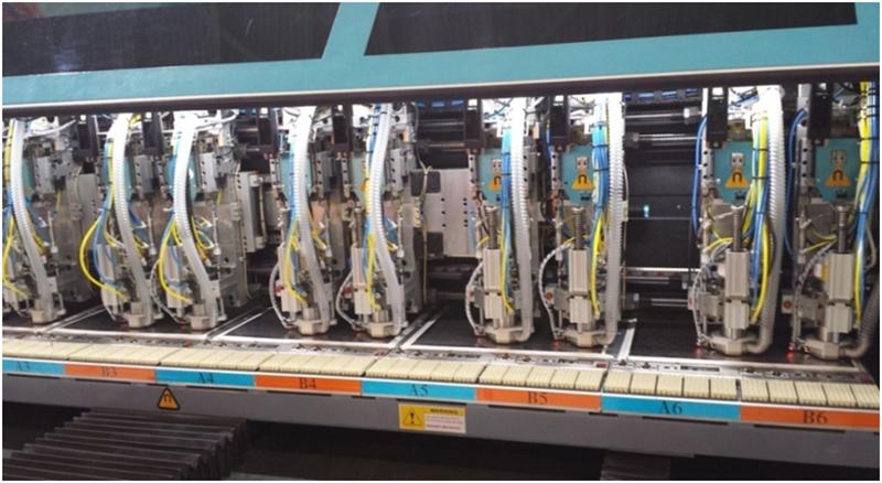 PG应用于多轴钻孔机