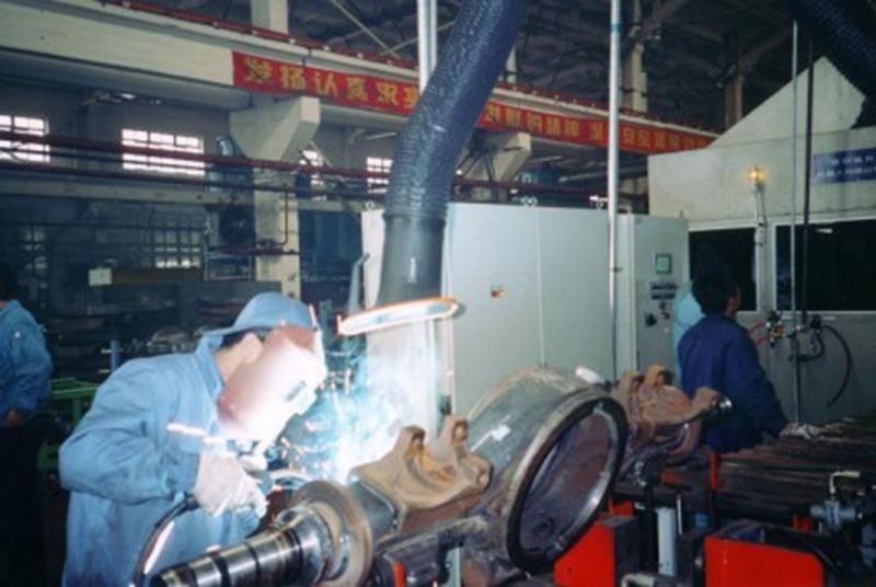 中央式焊接除尘系统
