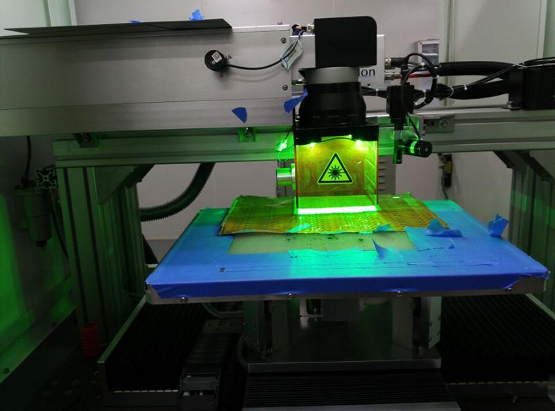 HBC应用于激光打标线路板