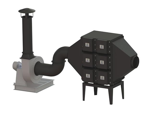 ZM系列高负压真空吸尘系统
